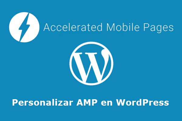 Personalizar amp en wordpress